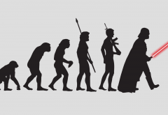 Darth Vader, evolution, simple wallpaper
