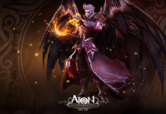 Aion Online, sorcerer, Asmodian, video games wallpaper