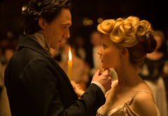 crimson peak, tom hiddleston, mia wasikowska, movies wallpaper