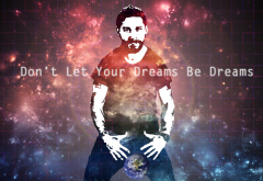 actors, Shia LaBeouf, motivational, graphics wallpaper