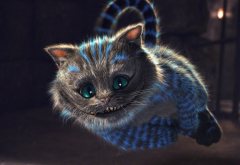 cheshire cat, cat, alice in wonderland, movies wallpaper