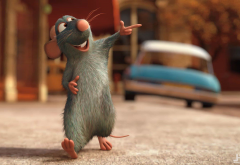 ratatouille, cartoon, movies, mouse wallpaper