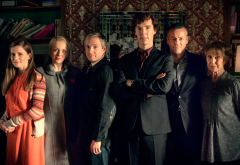 sherlock, tv series, movies, martin freeman, benedict cumberbatch, una stubbs, rupert graves, louise wallpaper