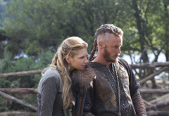 vikings, tv series, lagertha lothbrok, ragnar lodbrok, movies, travis fimmel, katheryn winnick wallpaper