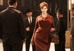 christina hendricks, redhead, mad men, women, actress, men, movies wallpaper