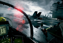 battlefield 3, video games, aircraft, aircraft carrier wallpaper