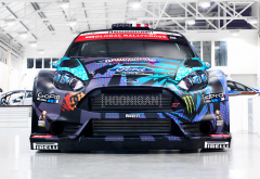 ford fiesta st rx43, race cars, ford fiesta, ford, garage wallpaper