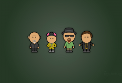 breaking bad, movies, tv series, characters, minimalism wallpaper