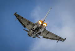 eurofighter typhoon, typhoon, aircraft, aviation wallpaper