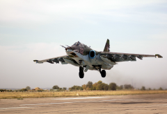sukhoi, su-25, frogfoot, subsonic attack aircraft, aviation wallpaper