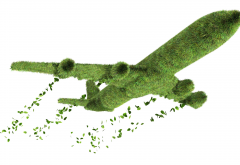 aircraft, aviation, graphics, grass, eco plane wallpaper