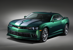 chevrolet camaro ss, cars, chevrolet camaro, green chevrolet, chevrolet wallpaper