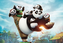 kung fu panda 3, panda, movies, cartoons wallpaper