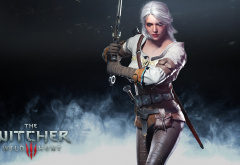 ciri, the witcher, the witcher 3: wild hunt, video games, sword wallpaper