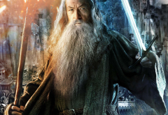 the lord of the rings: the fellowship of the ring, the lord of the rings, movies, sword, Gandalf, Ian McKellen wallpaper