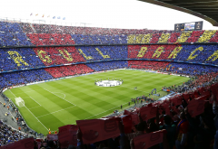 stadium, spain, barcelona, camp nou, football, sport, city wallpaper
