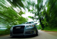 audi a4, speed, cars, audi wallpaper