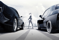 the fate of the furious, cars, movies, women wallpaper