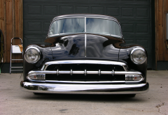 chevrolet fleetline, retro, 1951 chevy fleetline, chevrolet, cars, retro car wallpaper