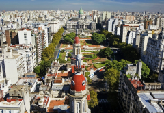 buenos aires, argentina, city, world, park, street, palace of the argentine national congress wallpaper