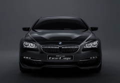 bmw gran coupe, front view, bmw, concept, gran coupe, cars wallpaper