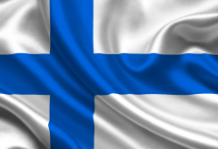 finland, flag, flag of finland wallpaper