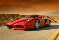 ferrari enzo, cars, ferrari, speed, red ferrari wallpaper