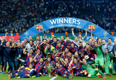barcelona, 2015, football, sport, uefa champions league wallpaper