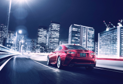 lexus rc 350 coupe, lexus rc, cars, night, city, lexus wallpaper