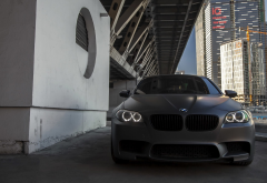 bmw, moscow, city, bridge, cars wallpaper