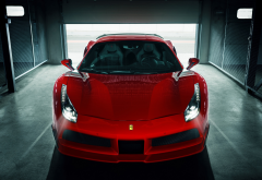 ferrari, cars, garage, ferrari 488 gtb wallpaper