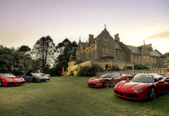 abercrombie house, bathurst, new south wales, australia, cars, city, ferrari wallpaper