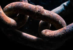chains, metal, rust wallpaper
