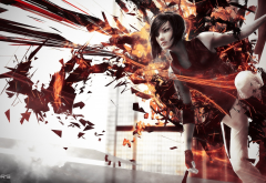 video games, Mirror's Edge, digital art, Faith Connors wallpaper