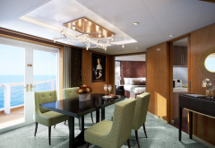 pinnacle suite, holland america line, cruise liner, sea, suite wallpaper