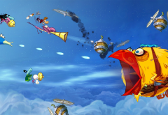 video games, digital art, rayman, rayman origins, ubisoft wallpaper
