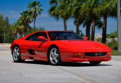 ferrari 355, 1994 ferrari f355 gts, cars, red car, ferrari wallpaper