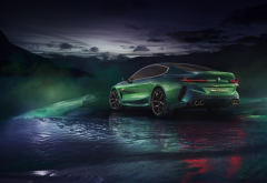 bmw m8, cars, green car, bmw, bmw concept m8 gran coupe wallpaper