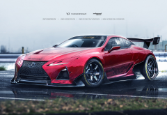 lexus lc 500, lexus, cars, red car, sportcar, lexus lc 500 f sport, lexus lc wallpaper