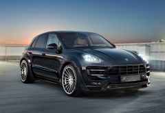 porsche, tuning, hamann, cars, porsche macan s, black car wallpaper