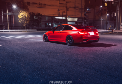 bmw m4, cars, bmw, red car wallpaper