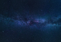 milky way, stars, space wallpaper