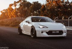 toyota gt-86, jdm, japanese cars, toyota, tuning, cars, white car wallpaper