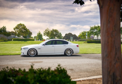 bmw, white car, cars, bmw f10 550i, bmw f10 wallpaper