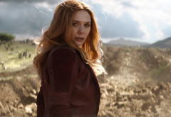 avengers: infinity war, elizabeth olsen, scarlet witch, wanda maximoff, movies, actress, redhead, women wallpaper