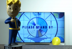 tv, fallout, bethesda, figure, vault boy, video games wallpaper