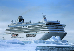 crystal serenity, northwest passage, crystal cruises, arctic, nature, cruise ship, ship, ice, snow wallpaper