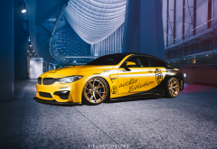 bmw m4, cars, bmw, yallow car wallpaper