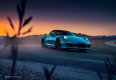 porsche 911, porsche, cars, sunset wallpaper